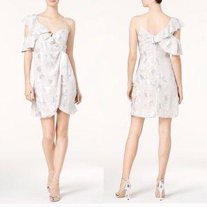 NWT // Bardot metallic floral dress